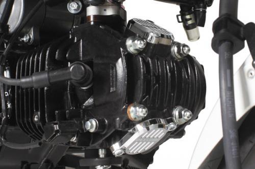 モンキー125(JB02) SP武川(TAKEGAWA) アルミ削り出しタペットカバーセット