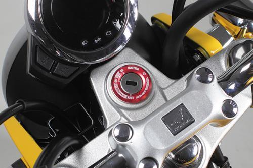 モンキー125(JB02) SP武川(TAKEGAWA) メインスイッチカバー