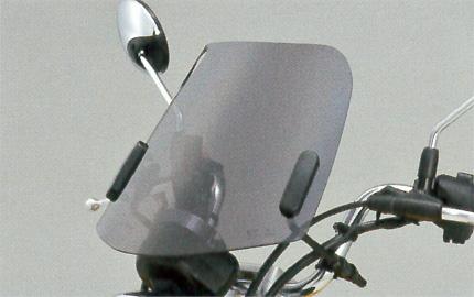モンキー125(JB02) 旭精機 ミドルスクリーン