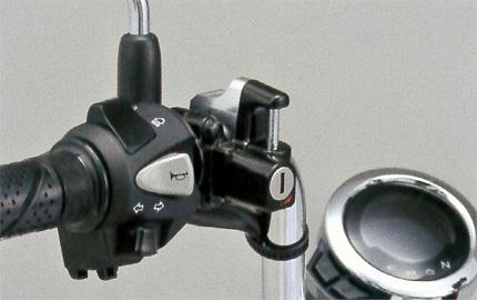 モンキー125(JB02) SP武川(TAKEGAWA) ヘルメットホルダー