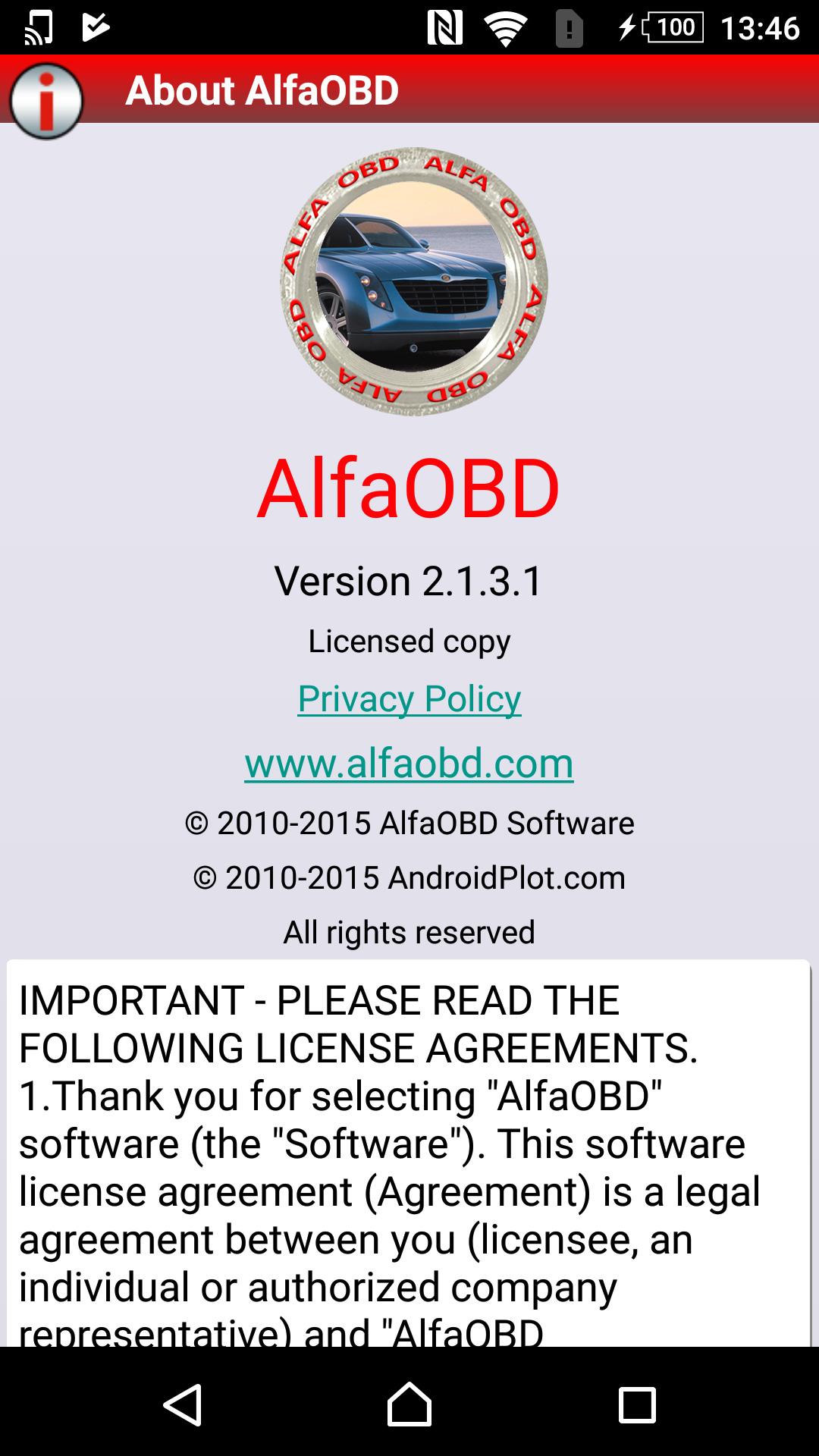 AlfaOBD で FIAT PANDA3 クラッチとデュアロジックのキャリブレーション