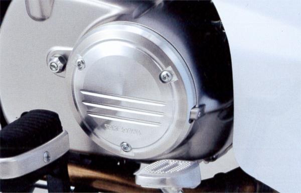 新型スーパーカブC125(JA48) SP武川(TAKEGAWA) R.クランクケースカバープロテクター