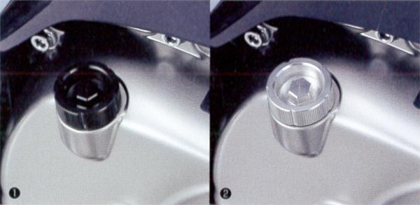 新型スーパーカブC125(JA48) キタコ(KITACO) オイルフィラーキャップ