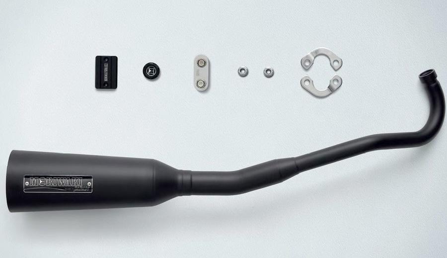 新型スーパーカブC125(JA48) H2C フルエキゾーストマフラー MORIWAKI Megaphone Exhaust
