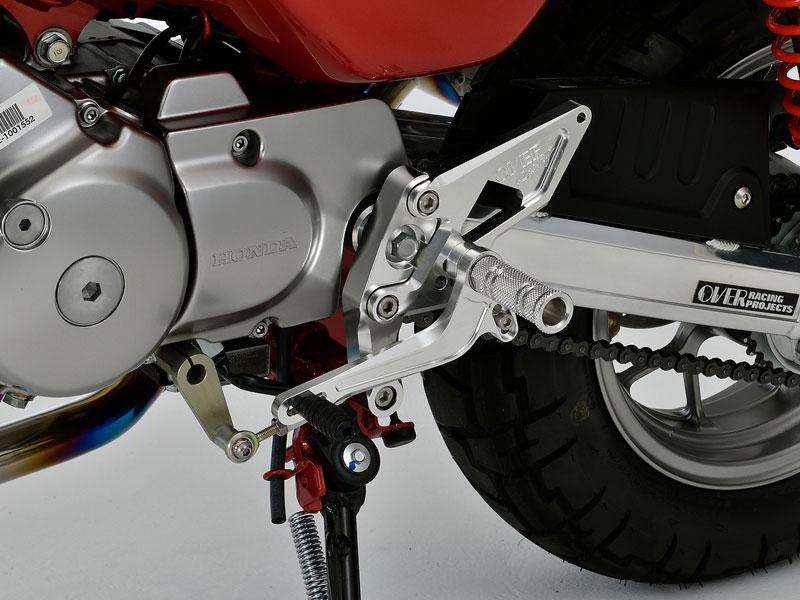モンキー125(JB02) OVER RACING(オーバーレーシング) 4ポジションバックステップ