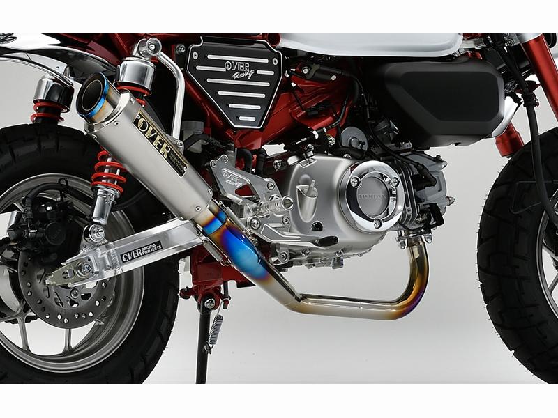 モンキー125(JB02) OVER RACING(オーバーレーシング) GP-PERFORMANCE フルチタン RS-R