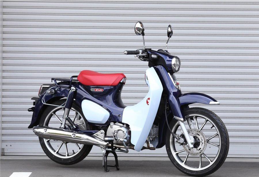 新型スーパーカブC125(JA48) KIJIMA キジマ バッグサポート