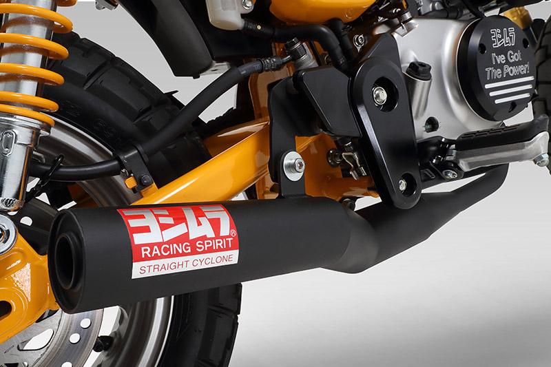 モンキー125(JB02) YOSHIMURA ヨシムラ 機械曲 ストレートサイクロン 政府認証