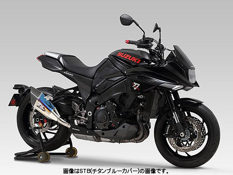 2019 新型KATANA YOSHIMURA(ヨシムラ) Slip-On R-11Sqサイクロン EXPORT SPEC 政府認証 (ヒートガード付属)