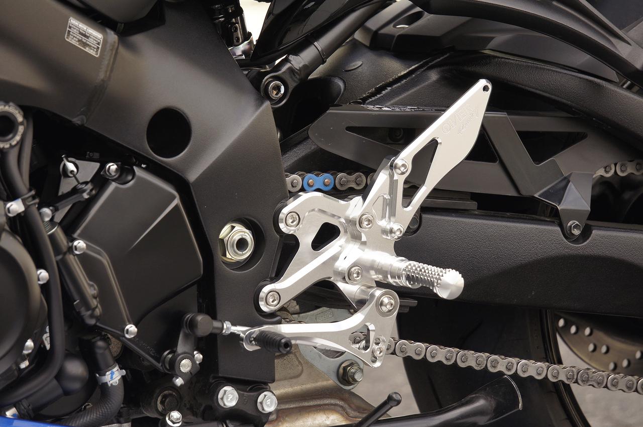2019 新型KATANA OVER RACING BACK-STEP 4ポジション シルバー