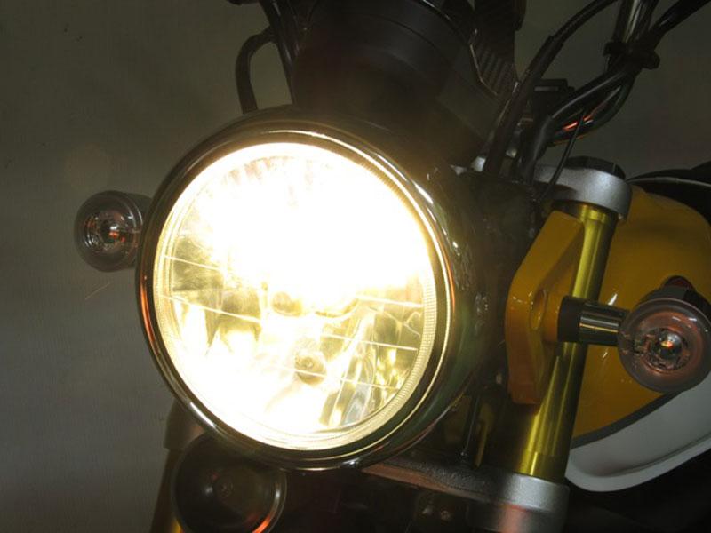 モンキー125(JB02) PROTEC(プロテック)LEDマルチリフレクターヘッドライト