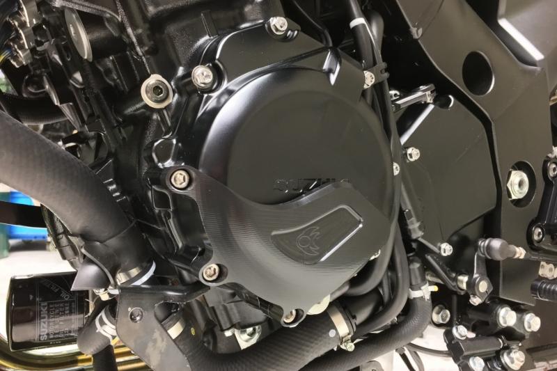 2019 新型KATANA K-FACTORY(ケイファクトリー)エンジンカバースライダー 左側