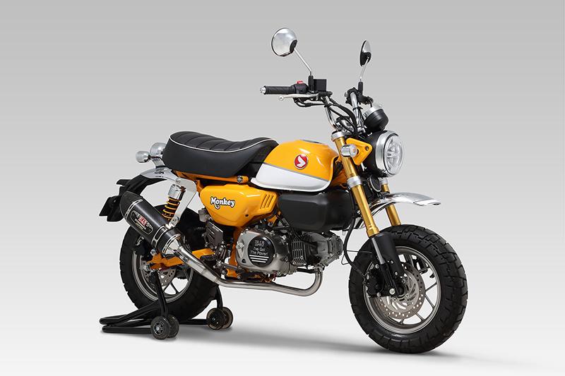 モンキー125(JB02) YOSHIMURA ヨシムラ R-77SサイクロンカーボンエンドTYPE-Down EXPORT SPEC