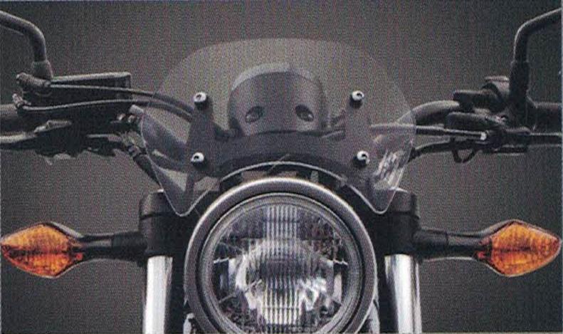 Rebel250(MC49) H2C(エイチツーシー)メーターバイザーキット