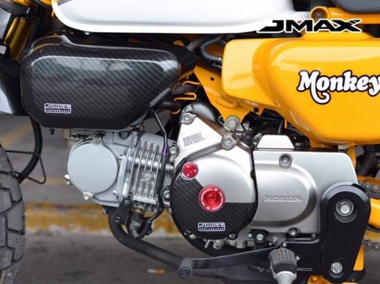 モンキー125(JB02) カーボン クランクケース カバー