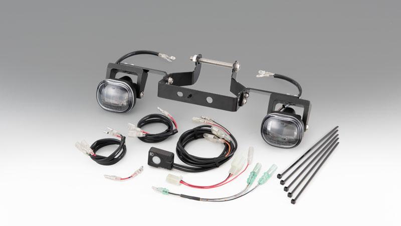 クロスカブ(JA45/AA06) KIJIMA(キジマ)フォグランプKIT LED スモール