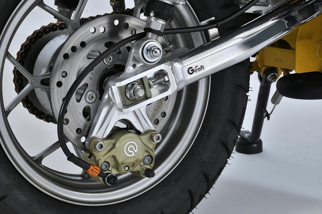 モンキー125(JB02) G-Craft Gクラフト フロントキャリパーサポート リヤ