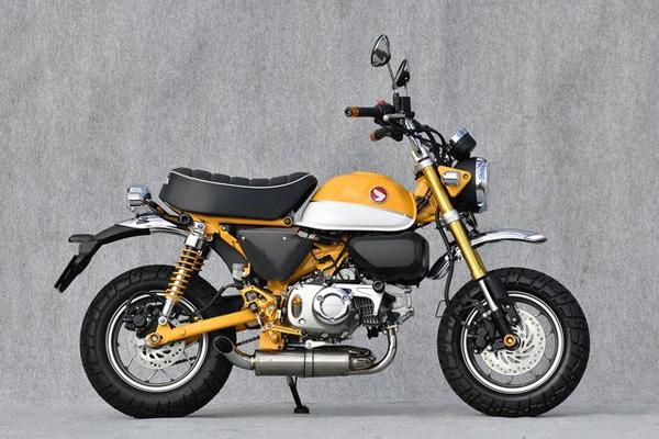 モンキー125(JB02) ヤマモトレーシング(YAMAMOTO RACING) SUS DOWN TYPE-1 スリップオンマフラー