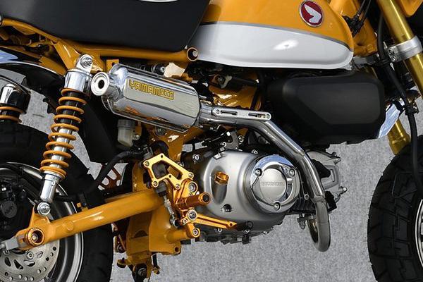 モンキー125(JB02) ヤマモトレーシング YAMAMOTO RACING SUS UP-TYPE マフラー