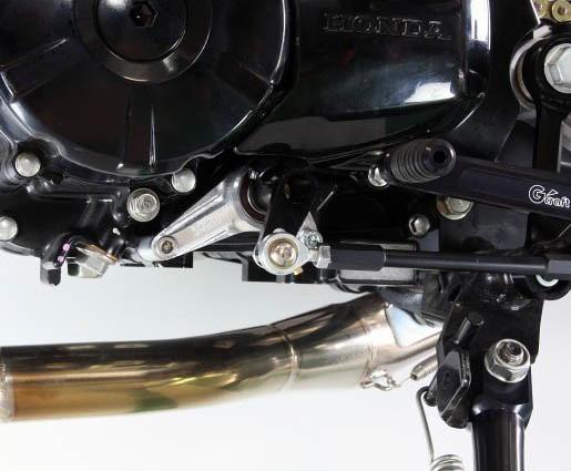モンキー125(JB02) G-Craft(Gクラフト)シフトガイド(通称ガッチリくん)