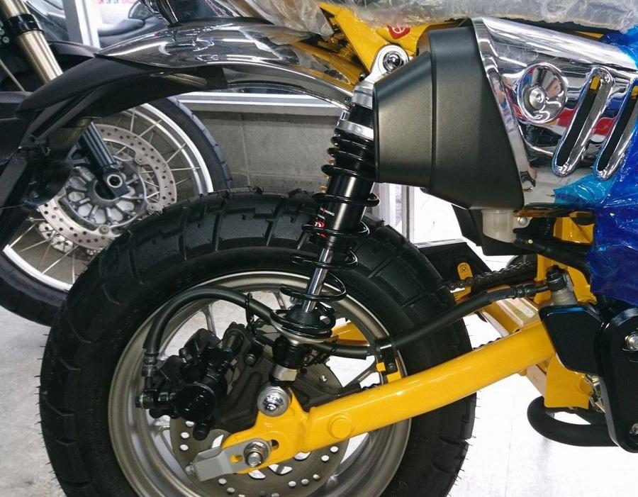 モンキー125(JB02) RPM Double R アジャスタブルリアサスペンション
