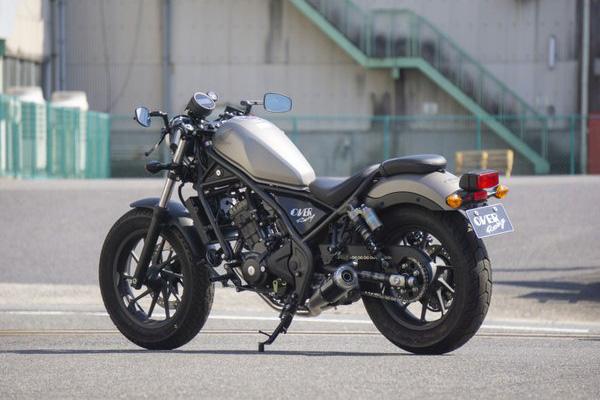 Rebel250(MC49) OVER(オーヴァー)GP-PERFORMANCE XL-Tマフラー