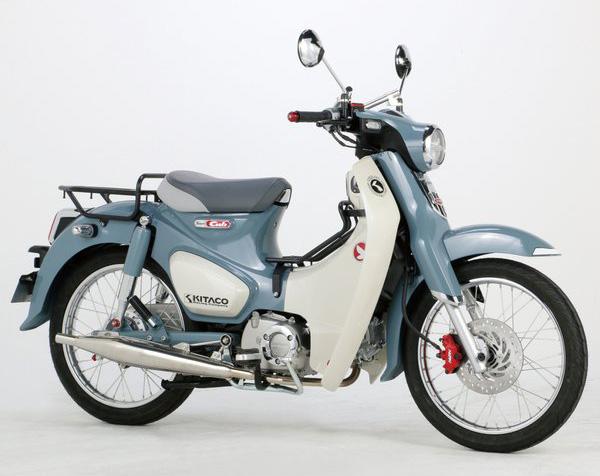 新型スーパーカブC125(JA48) キタコ(KITACO) スポークホイールKIT