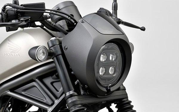 Rebel250(MC49) Honda純正 20年モデル Rebel250/500用 ヘッドライトカウル