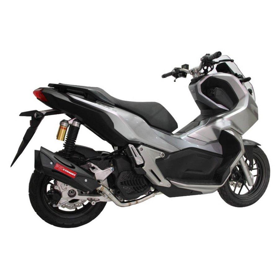 HONDA ADV150 R9 Exhaust(アールナインエキゾースト)Misano Black フルエキゾースト