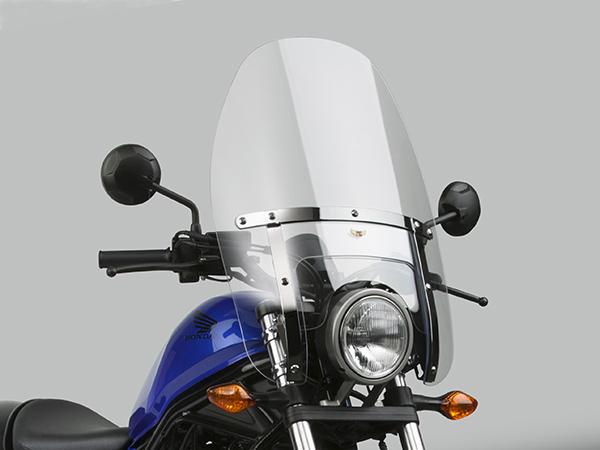 Rebel250(MC49) DAYTONA(デイトナ)national cycle カスタム ヘビーデューティー ウインドシールド車種専用セット