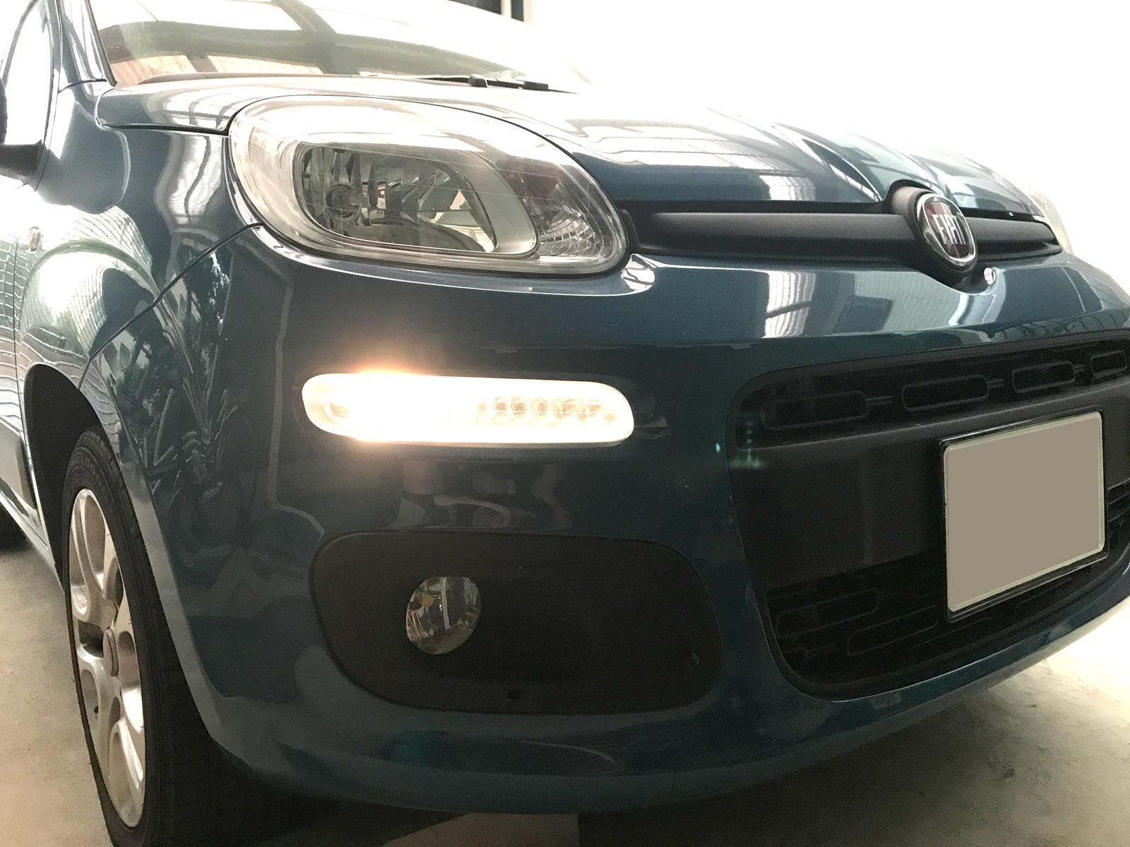 FIAT PANDA3(2013) のデイライト(DRL)を有効化