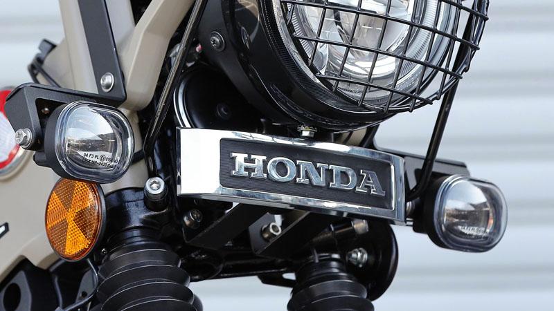 HONDA CT125 新型ハンターカブ(JA55) KIJIMA(キジマ)エンブレム HONDA純正ロゴ L(185mm) +ブッシュx2