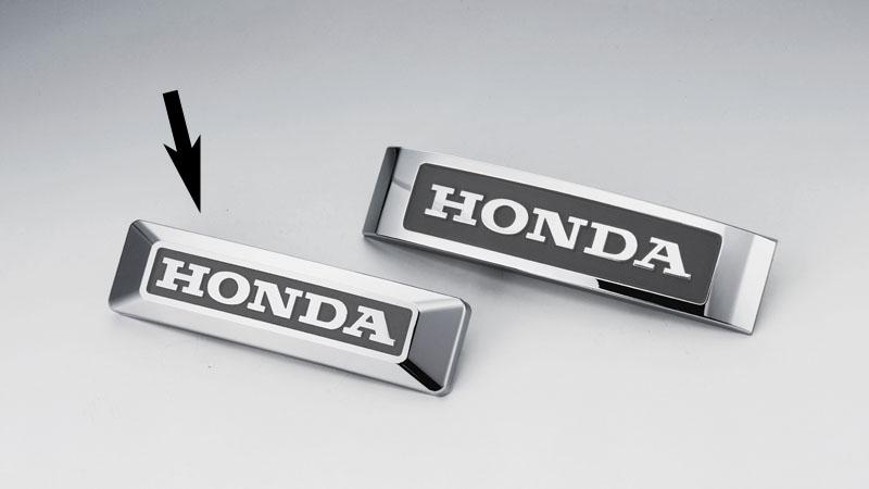 HONDA CT125 新型ハンターカブ(JA55) KIJIMA(キジマ)エンブレム HONDA純正ロゴ S(161mm) +ブッシュx2