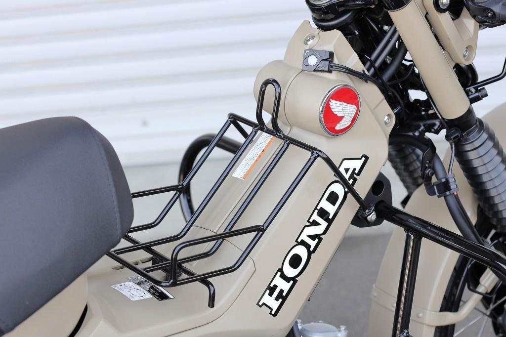 HONDA CT125 新型ハンターカブ キジマ(KIJIMA) センターキャリア ブラック
