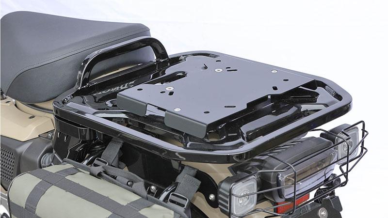 HONDA CT125 新型ハンターカブ(JA55) KIJIMA(キジマ)リアキャリア BOXベース ブラック