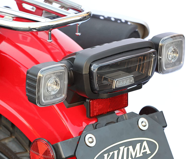 HONDA CT125 新型ハンターカブ(JA55) キジマ(Kijima) LEDテールランプユニット スモークレンズ