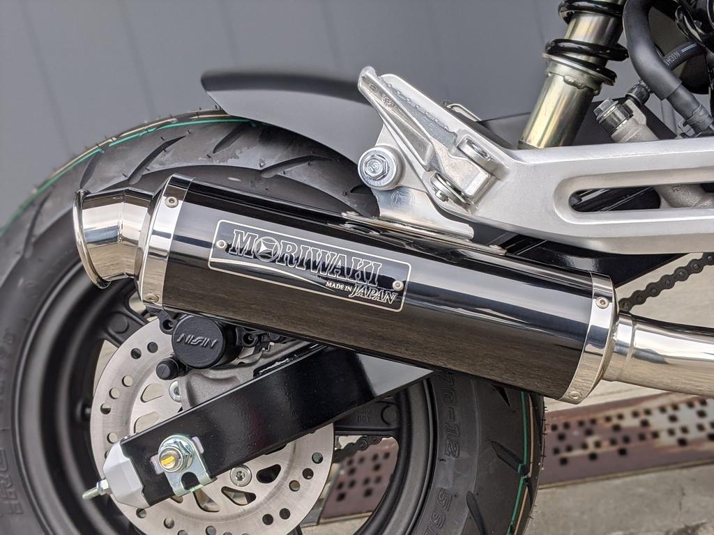 2021新型グロム(GROM 2BJ-JC92) MORIWAKI(モリワキ)フルエキゾーストマフラー ZERO [ゼロ]