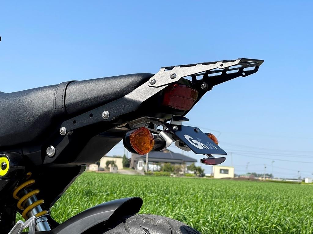 2021新型グロム(GROM 2BJ-JC92) G-Craft(ジークラフト)ビレットライセンスホルダー