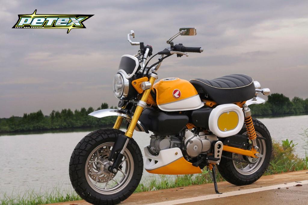 モンキー125(JB02) Petex(ペテックス)Belly pan