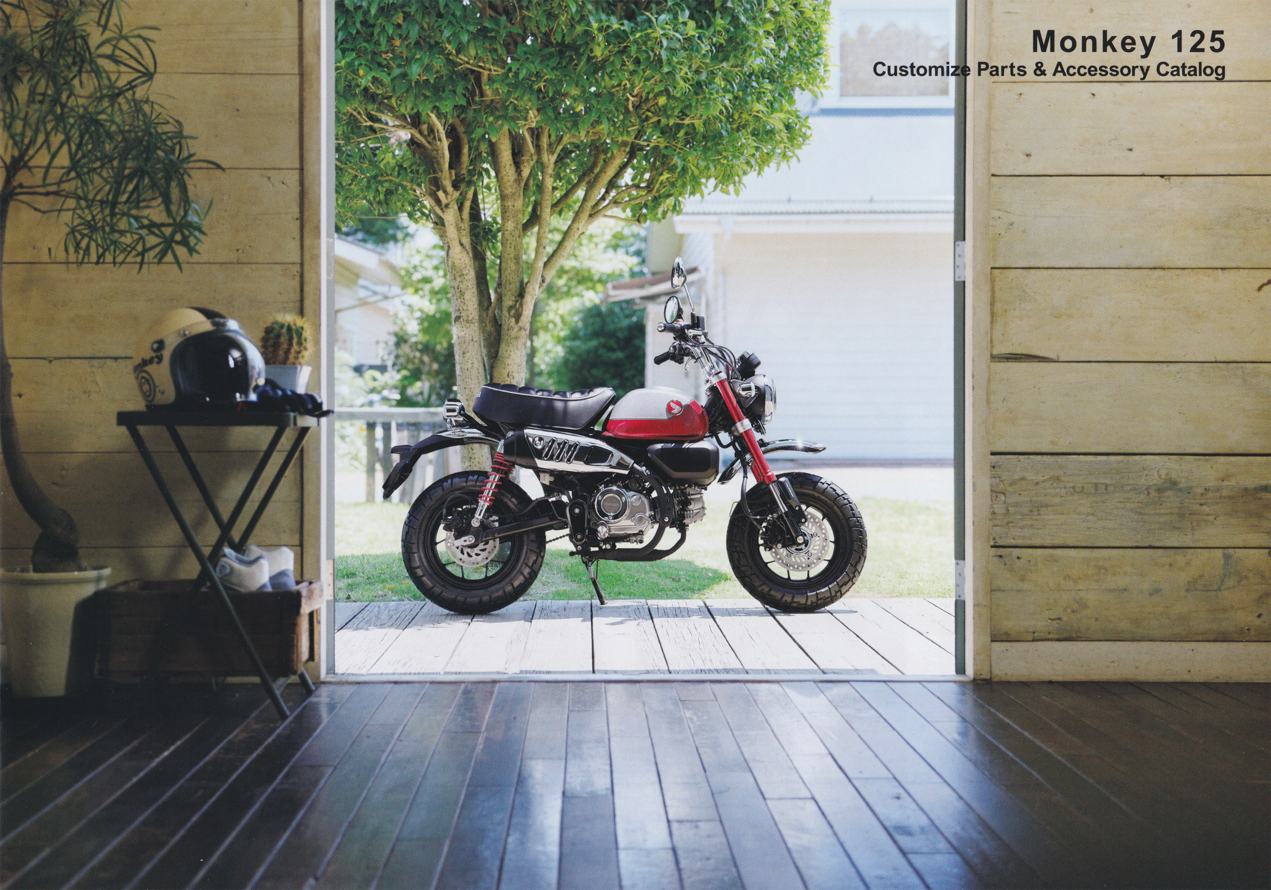2021新型モンキー125(8BJ-JB03) カスタマイズパーツ&アクセサリーカタログ